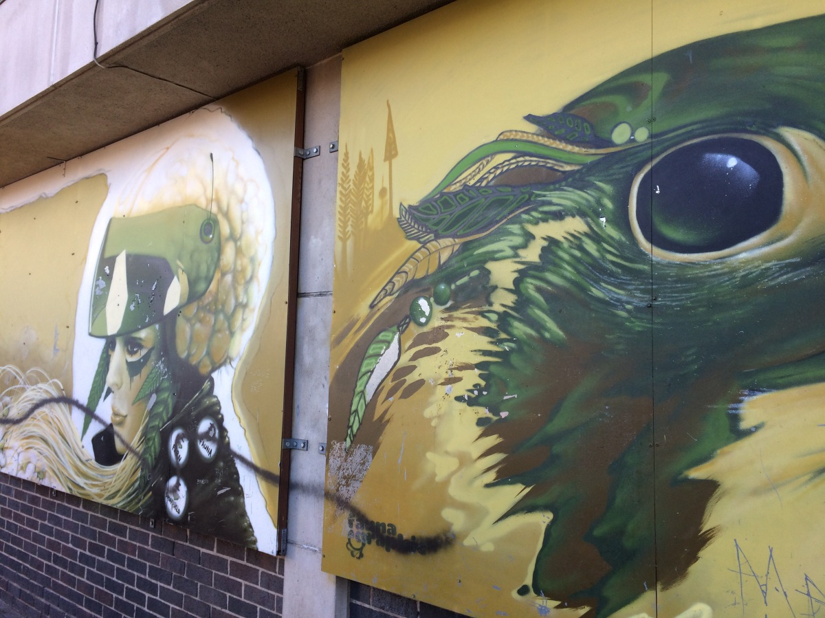 Wonderwall: Sheffield city street art to be part of Chelsea Garden