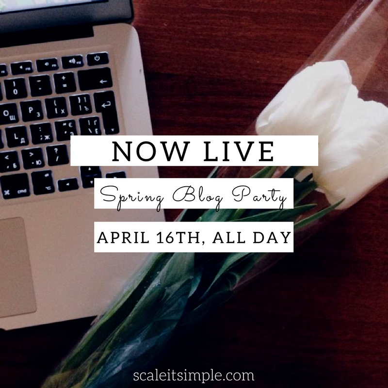 Now Live – Spring BlogParty