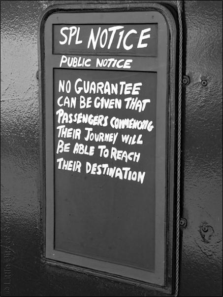 No Guarantee | Public Notice| © Little Bits of Sheffield | 2018 | SP1050826E