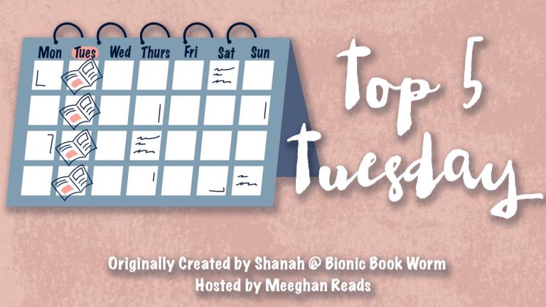 Top 5 Tuesday 2020books